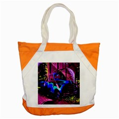 Abstract Artwork Of A Old Truck Accent Tote Bag by Nexatart