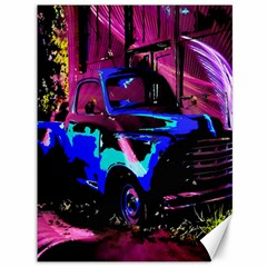 Abstract Artwork Of A Old Truck Canvas 36  X 48