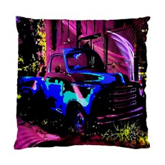 Abstract Artwork Of A Old Truck Standard Cushion Case (one Side)