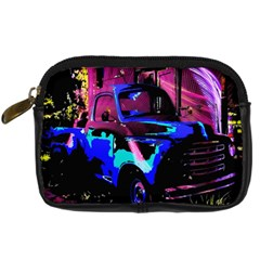 Abstract Artwork Of A Old Truck Digital Camera Cases by Nexatart