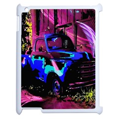 Abstract Artwork Of A Old Truck Apple Ipad 2 Case (white) by Nexatart