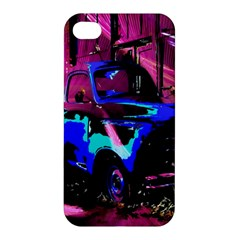 Abstract Artwork Of A Old Truck Apple Iphone 4/4s Hardshell Case by Nexatart