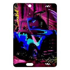 Abstract Artwork Of A Old Truck Amazon Kindle Fire Hd (2013) Hardshell Case by Nexatart