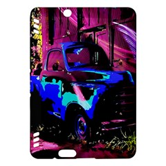 Abstract Artwork Of A Old Truck Kindle Fire Hdx Hardshell Case by Nexatart