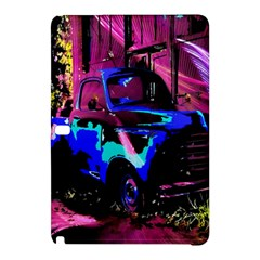 Abstract Artwork Of A Old Truck Samsung Galaxy Tab Pro 12 2 Hardshell Case by Nexatart