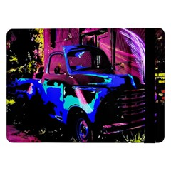 Abstract Artwork Of A Old Truck Samsung Galaxy Tab Pro 12.2  Flip Case by Nexatart