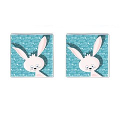 Easter Bunny  Cufflinks (square) by Valentinaart