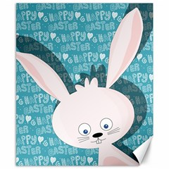 Easter Bunny  Canvas 8  X 10  by Valentinaart