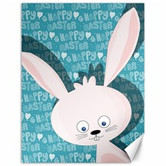 Easter Bunny  Canvas 12  X 16   by Valentinaart