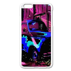 Abstract Artwork Of A Old Truck Apple Iphone 6 Plus/6s Plus Enamel White Case