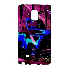 Abstract Artwork Of A Old Truck Galaxy Note Edge by Nexatart