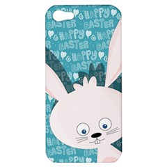 Easter Bunny  Apple Iphone 5 Hardshell Case