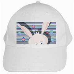 Easter Bunny  White Cap by Valentinaart