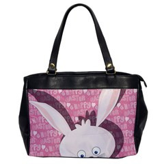 Easter Bunny  Office Handbags by Valentinaart