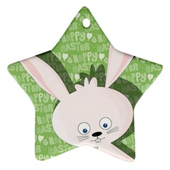 Easter Bunny  Ornament (star) by Valentinaart