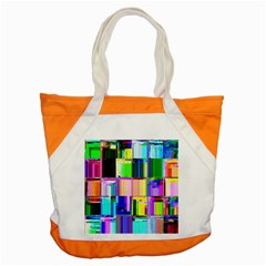Glitch Art Abstract Accent Tote Bag by Nexatart