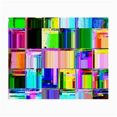 Glitch Art Abstract Small Glasses Cloth (2 Side)