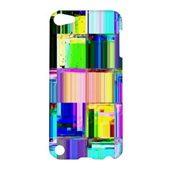 Glitch Art Abstract Apple Ipod Touch 5 Hardshell Case by Nexatart