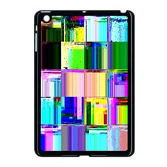 Glitch Art Abstract Apple Ipad Mini Case (black)
