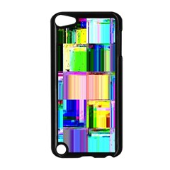 Glitch Art Abstract Apple Ipod Touch 5 Case (black)