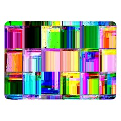 Glitch Art Abstract Samsung Galaxy Tab 8 9  P7300 Flip Case by Nexatart