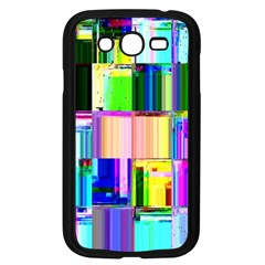 Glitch Art Abstract Samsung Galaxy Grand Duos I9082 Case (black)