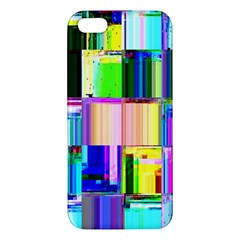 Glitch Art Abstract Iphone 5s/ Se Premium Hardshell Case by Nexatart