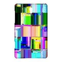 Glitch Art Abstract Samsung Galaxy Tab S (8 4 ) Hardshell Case  by Nexatart