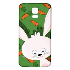 Easter Bunny  Samsung Galaxy S5 Back Case (white) by Valentinaart