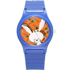 Easter Bunny  Round Plastic Sport Watch (s) by Valentinaart