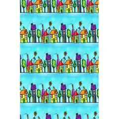 Colourful Street A Completely Seamless Tile Able Design 5 5  X 8 5  Notebooks by Nexatart