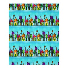 Colourful Street A Completely Seamless Tile Able Design Shower Curtain 60  X 72  (medium)  by Nexatart