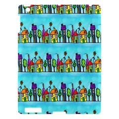 Colourful Street A Completely Seamless Tile Able Design Apple Ipad 3/4 Hardshell Case by Nexatart