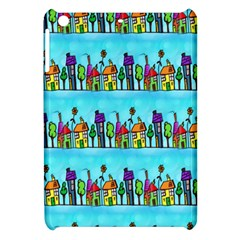 Colourful Street A Completely Seamless Tile Able Design Apple Ipad Mini Hardshell Case by Nexatart