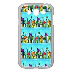 Colourful Street A Completely Seamless Tile Able Design Samsung Galaxy Grand Duos I9082 Case (white) by Nexatart