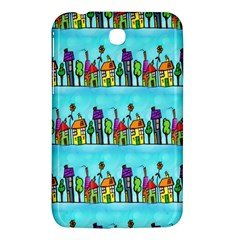 Colourful Street A Completely Seamless Tile Able Design Samsung Galaxy Tab 3 (7 ) P3200 Hardshell Case  by Nexatart