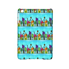 Colourful Street A Completely Seamless Tile Able Design Ipad Mini 2 Hardshell Cases