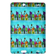 Colourful Street A Completely Seamless Tile Able Design Amazon Kindle Fire Hd (2013) Hardshell Case by Nexatart