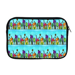 Colourful Street A Completely Seamless Tile Able Design Apple Macbook Pro 17  Zipper Case by Nexatart