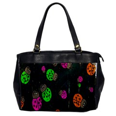 Cartoon Grunge Beetle Wallpaper Background Office Handbags by Nexatart