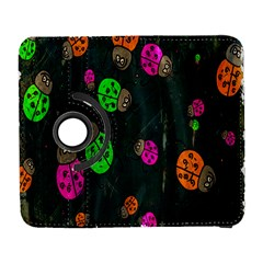Cartoon Grunge Beetle Wallpaper Background Galaxy S3 (flip/folio) by Nexatart