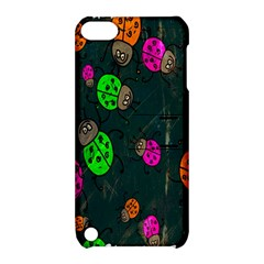 Cartoon Grunge Beetle Wallpaper Background Apple Ipod Touch 5 Hardshell Case With Stand