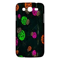 Cartoon Grunge Beetle Wallpaper Background Samsung Galaxy Mega 5 8 I9152 Hardshell Case  by Nexatart