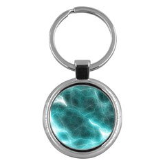 Light Web Colorful Web Of Crazy Lightening Key Chains (round)