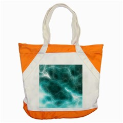 Light Web Colorful Web Of Crazy Lightening Accent Tote Bag by Nexatart