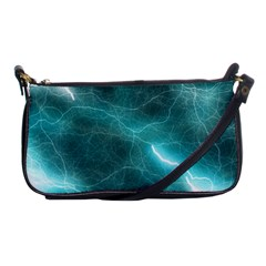 Light Web Colorful Web Of Crazy Lightening Shoulder Clutch Bags by Nexatart