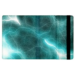 Light Web Colorful Web Of Crazy Lightening Apple Ipad 2 Flip Case by Nexatart