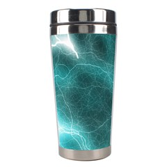 Light Web Colorful Web Of Crazy Lightening Stainless Steel Travel Tumblers by Nexatart