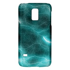 Light Web Colorful Web Of Crazy Lightening Galaxy S5 Mini by Nexatart