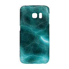 Light Web Colorful Web Of Crazy Lightening Galaxy S6 Edge by Nexatart